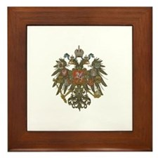 Cute Royal Framed Tile
