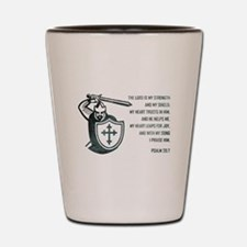 THE LORD IS MY... Shot Glass