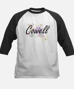 Cowell surname artistic design wit Baseball Jersey