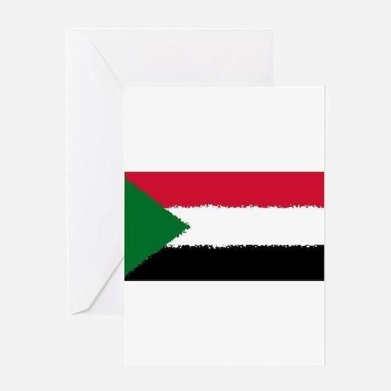 8 Bit Sudan Greeting Cards