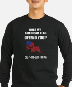 Politics T-shirt - Does my ame Long Sleeve T-Shirt