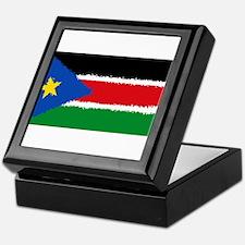 South Sudan 8 Bit Keepsake Box