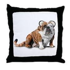 Chubby Kitty Throw Pillow