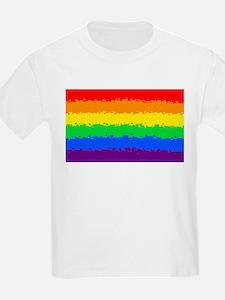 Gay Pride Flag- 8 Bit! T-Shirt