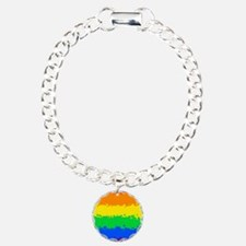 Gay Pride Flag- 8 Bit! Bracelet
