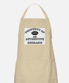 Property of an Automotive Mechanic BBQ Apron