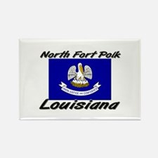 North Fort Polk Louisiana Rectangle Magnet