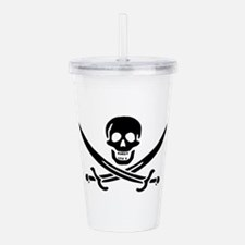 Pirates Logo Flag Acrylic Double-wall Tumbler