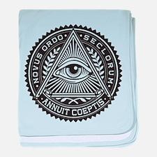 Illuminati Original baby blanket