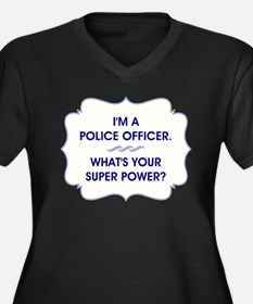 POLICE OFFICER Plus Size T-Shirt