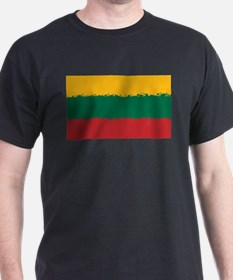 8 bit flag of Lithuania T-Shirt