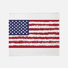 8 bit flag of Throw Blanket