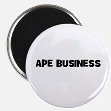 "ape business 2.25"" Magnet (10 pack)"