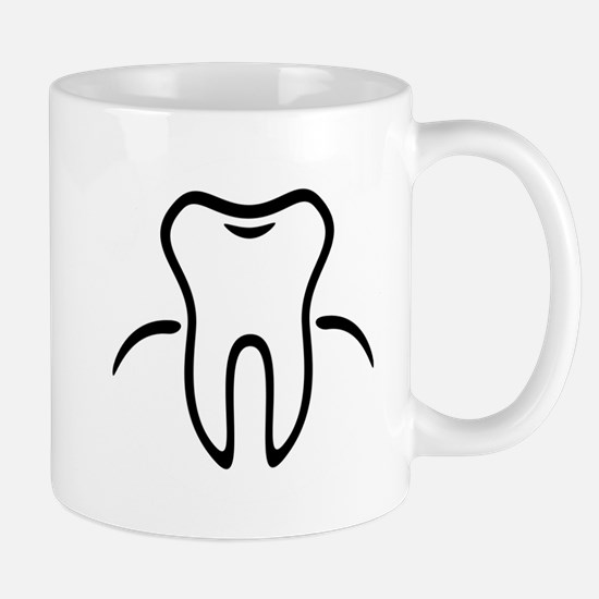 Tooth With Gingiva / Zahn / Dent / Diente / D Mugs