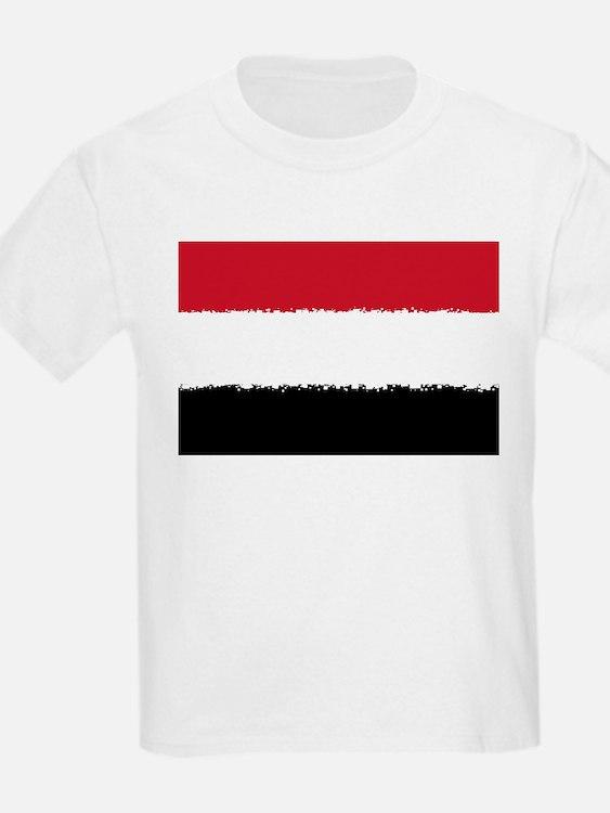 8 bit flag of T-Shirt