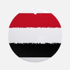 8 bit flag of Round Ornament
