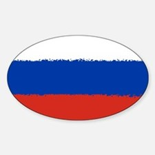 8 bit flag of Russia Decal