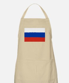 8 bit flag of Russia Apron