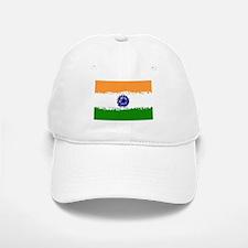 8 bit flag of India Baseball Baseball Cap