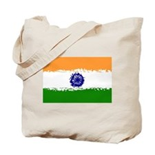 8 bit flag of India Tote Bag