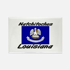 Natchitoches Louisiana Rectangle Magnet