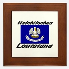 Natchitoches Louisiana Framed Tile