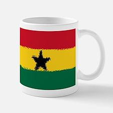 8 bit flag of Ghana Mugs