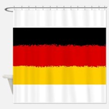 Germany in 8 bit Shower Curtain