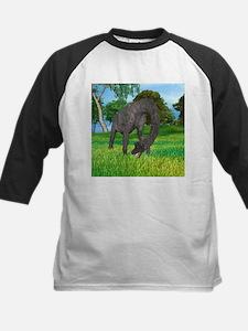 Dinosaur Brachiosaurus Baseball Jersey