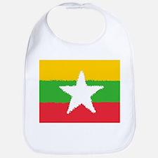 Burma in 8 bit Bib