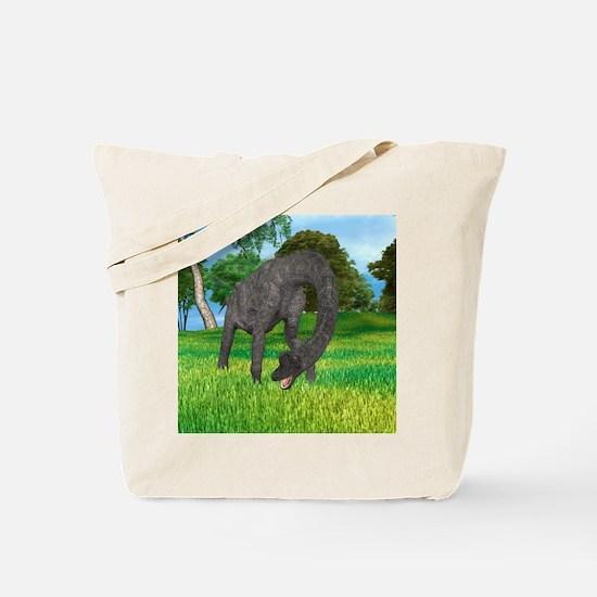 Dinosaur Brachiosaurus Tote Bag