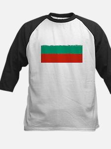 Bulgaria in 8 bit Baseball Jersey