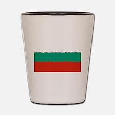 Bulgaria in 8 bit Shot Glass