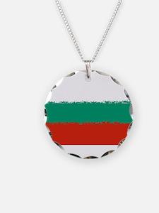 Bulgaria in 8 bit Necklace