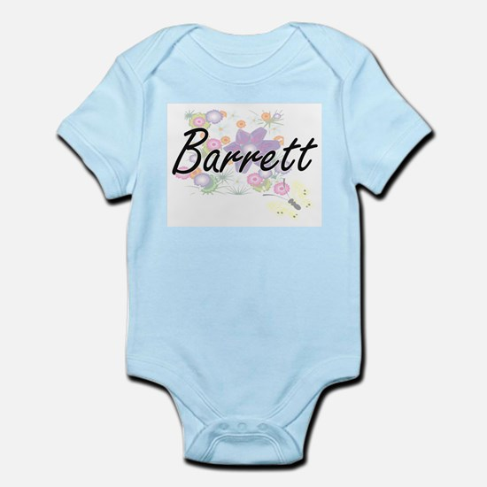 Barrett surname artistic design with Flo Body Suit