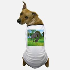 Dinosaur Brachiosaurus Dog T-Shirt