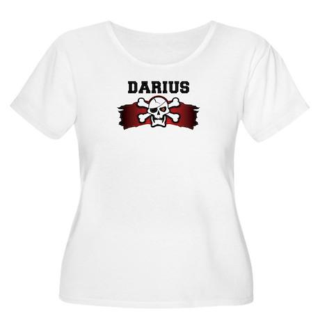 darius is a pirate Women's Plus Size Scoop Neck T-