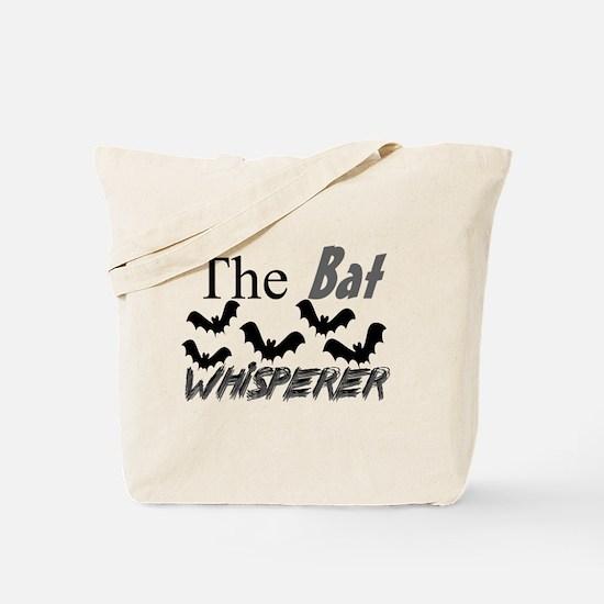 Bat Whisperer Tote Bag