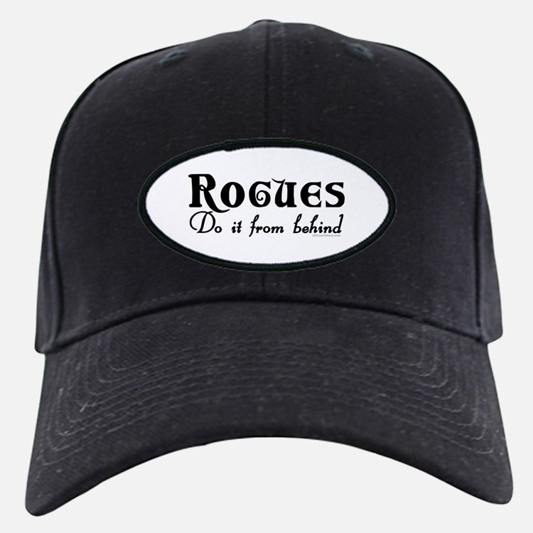 Rogues Do it From Behind Baseball Hat