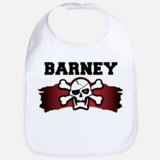 barney is a pirate Bib