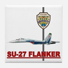 Su-27 Flankers Tile Coaster