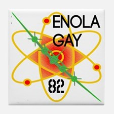 Enola Gay 82 Tile Coaster