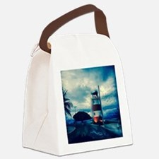 Lighthouse in Costa Rica Canvas Lunch Bag