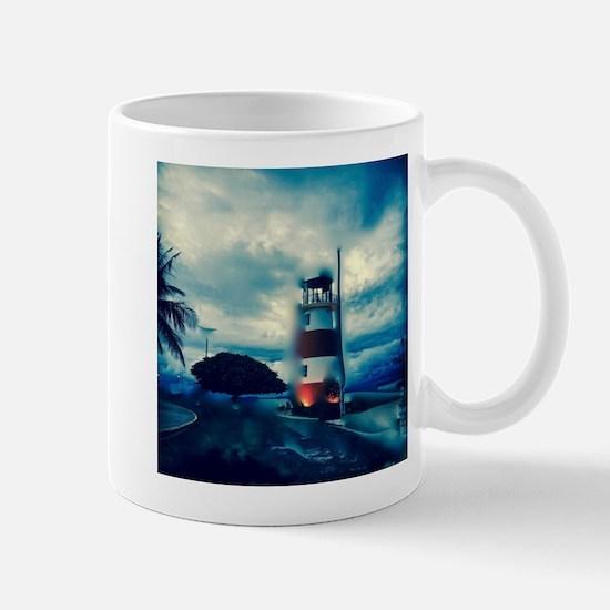 Lighthouse in Costa Rica Mugs