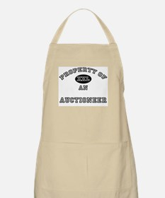 Property of an Auctioneer BBQ Apron