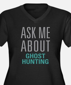 Ghost Hunting Plus Size T-Shirt
