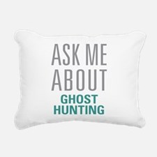 Ghost Hunting Rectangular Canvas Pillow