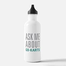 Go-Karts Water Bottle