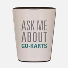 Go-Karts Shot Glass