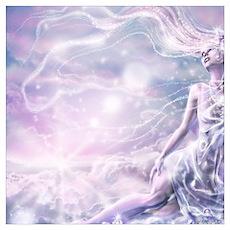 Sparkling Dream Queen Wall Art Poster